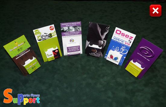 Prsentoir Carton Pour Cartes De Visite Distributeur