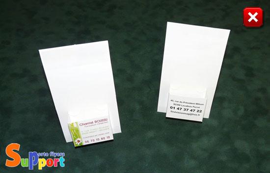 Presentoir Carton Pour Cartes De Visite Distributeur